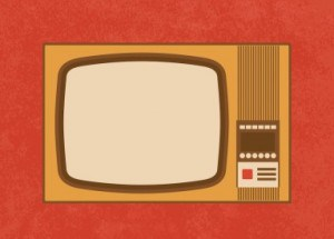 vintage-TV-writing