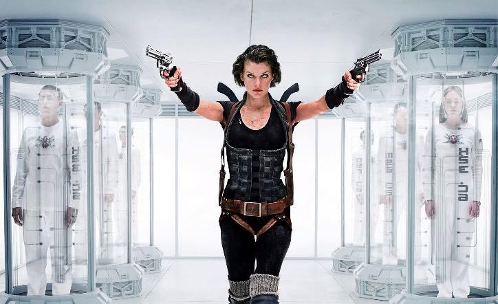 Image of Milla Jovovich in Resident Evil